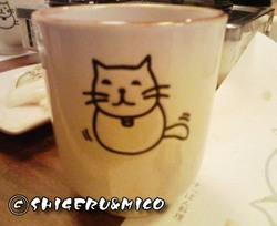 猫の湯呑み1
